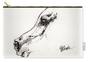 Arabian Horse Sketch 2014 05 24 G Carry-all Pouch