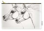 Arabian Horses 2014 02 25 Carry-all Pouch