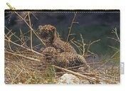 Arabian Leopard Panthera Pardus Cubs Carry-all Pouch