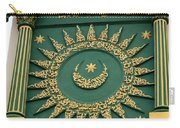 Arabic Calligraphy And Prayer On Gaffoor Mosque Singapore Carry-all Pouch