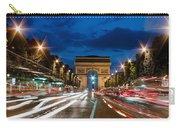 Arc De Triomphe At Dusk Paris Carry-all Pouch