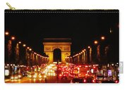 Arc De Triomphe At Night Carry-all Pouch