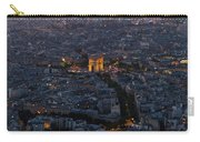 Arc De Triomphe From Above Carry-all Pouch