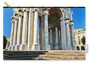 arc of triumph in Piazza Della Vittoria - Genova Carry-all Pouch