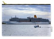 Arcadia Leaving Southampton Carry-all Pouch