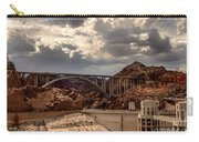 Arch Bridge And Hoover Dam Carry-all Pouch by Robert Bales