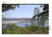 Arch Bridge At Yaquima Bay Carry-all Pouch