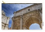 Arch Of Septimius Severus Carry-all Pouch