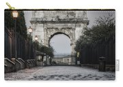 Arch Of Titus Morning Glow Carry-all Pouch