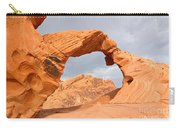 Arch Rock In The Valley Of Fire State Park In Nevada Carry-all Pouch