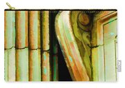 Archatectural Elements  Digital Paint Carry-all Pouch by Debbie Portwood
