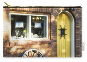 Arched Yellow Door Carry-all Pouch