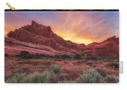 Arches Fire In The Sky Carry-all Pouch