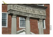 Architectural Columns With Equal Justice Carry-all Pouch
