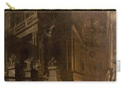 Architectural Fantasy With Figures Carry-all Pouch by Stefano Orlandi