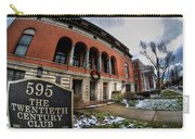Architecture And Places In The Q.c. Series 01 The Twentieth Century Club Carry-all Pouch