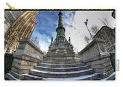 Architecture And Places In The Q.c. Series  Soldiers And Sailors Monument In Lafayette Square Carry-all Pouch