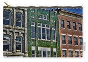 Architecture - Early City Buildings - Luther Fine Art Carry-all Pouch