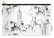 Architecture Of New York City Carry-all Pouch by Dan Sproul