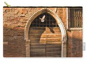 Archway With Bird In Venice Carry-all Pouch