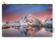 Arctic Dawn Over Reine Village Carry-all Pouch