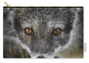 Arctic Fox In Summer Coat Carry-all Pouch