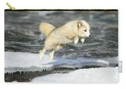 Arctic Fox Jumping Carry-all Pouch