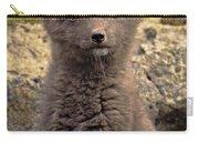 Arctic Fox Pup Alaska Wildlife Carry-all Pouch