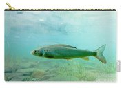 Arctic Grayling Or Thymallus Arcticus Underwater Carry-all Pouch