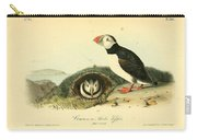 Arctic Puffin Carry-all Pouch by Philip Ralley