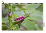 Arctic Rose Bud Carry-all Pouch