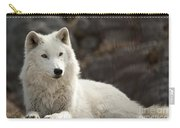 Arctic Wolf Adult Carry-all Pouch