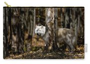 Arctic Wolf Picture 242 Carry-all Pouch