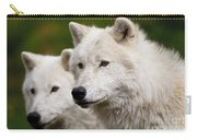 Arctic Wolf Picture 247 Carry-all Pouch