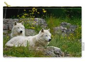 Arctic Wolf Pictures 1128 Carry-all Pouch