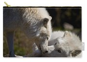 Arctic Wolf Pictures 1139 Carry-all Pouch
