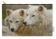 Arctic Wolf Pictures 1174 Carry-all Pouch