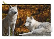 Arctic Wolf Pictures 34 Carry-all Pouch