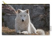 Arctic Wolf Pictures 518 Carry-all Pouch