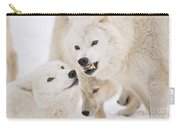 Arctic Wolf Pictures 872 Carry-all Pouch
