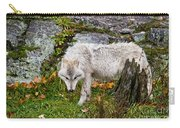 Arctic Wolf Pictures 927 Carry-all Pouch