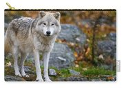 Arctic Wolf Pictures 942 Carry-all Pouch
