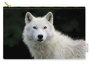 Arctic Wolf Portrait Carry-all Pouch