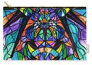 Arcturian Awakening Grid Carry-all Pouch by Teal Eye  Print Store