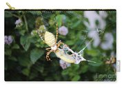 Argiope Spider Top Side Horizontal Carry-all Pouch