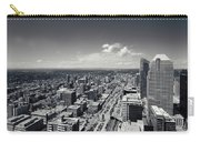 Arial View Of Calgary Facing West Carry-all Pouch