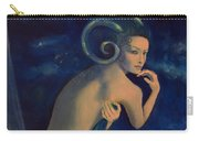 Aries From Zodiac Series Carry-all Pouch by Dorina  Costras