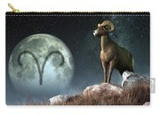 Aries Zodiac Symbol Carry-all Pouch