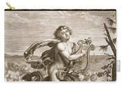 Arion Preserved By A Dolphin, 1731 Carry-all Pouch