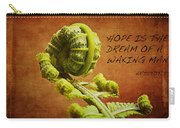 Aristotle Quote Carry-all Pouch